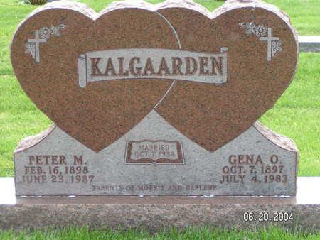 KALGAARDEN, PETER M. - Worth County, Iowa | PETER M. KALGAARDEN