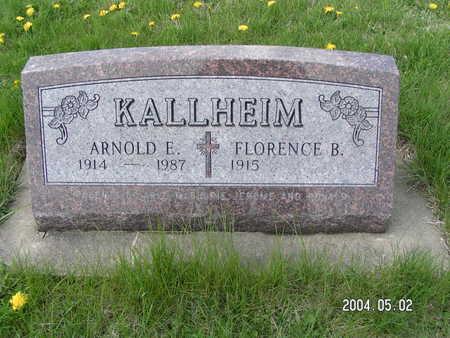 KALLHEIM, ARNOLD - Worth County, Iowa | ARNOLD KALLHEIM