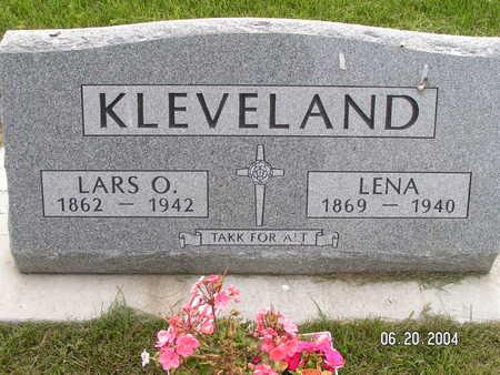 KLEVELAND, LENA - Worth County, Iowa | LENA KLEVELAND