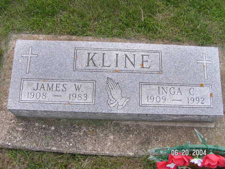KLINE, INGA C. - Worth County, Iowa | INGA C. KLINE