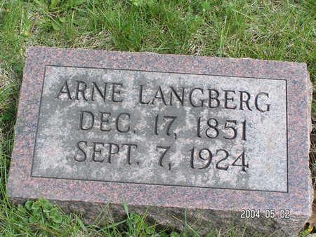LANGBERG, ARNE - Worth County, Iowa | ARNE LANGBERG