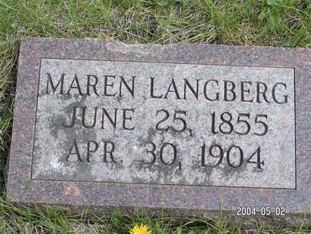 LANGBERG, MAREN - Worth County, Iowa | MAREN LANGBERG