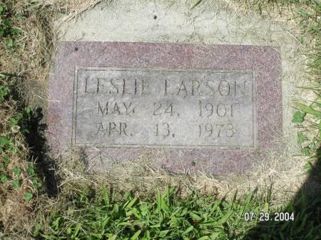 LARSON, LESLIE - Worth County, Iowa | LESLIE LARSON