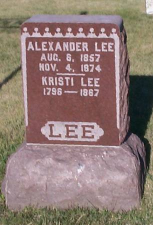 LEE, ALEXANDER - Worth County, Iowa | ALEXANDER LEE