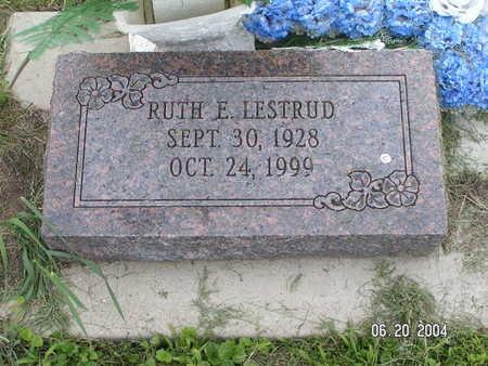 LESTRUD, RUTH E. - Worth County, Iowa | RUTH E. LESTRUD