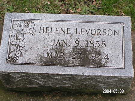 LEVORSON, HELENE - Worth County, Iowa   HELENE LEVORSON