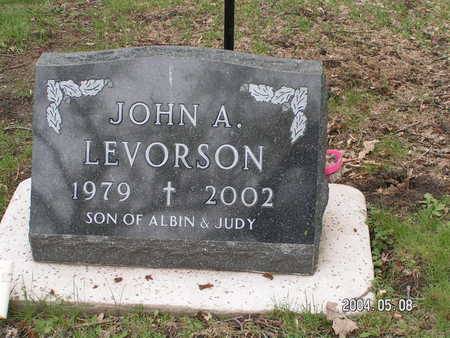 LEVORSON, JOHN A. - Worth County, Iowa | JOHN A. LEVORSON
