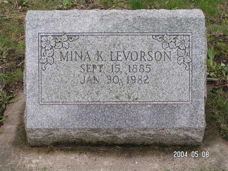 LEVORSON, MINA K. - Worth County, Iowa | MINA K. LEVORSON