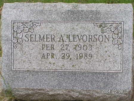 LEVORSON, SELMER A. - Worth County, Iowa | SELMER A. LEVORSON