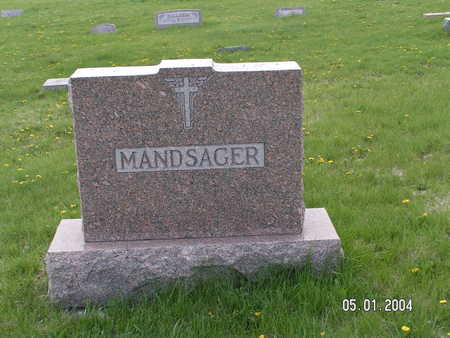 MADSAGER, (FAMILY STONE) - Worth County, Iowa | (FAMILY STONE) MADSAGER