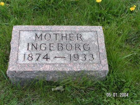 MADSAGER, INGEBORG - Worth County, Iowa | INGEBORG MADSAGER