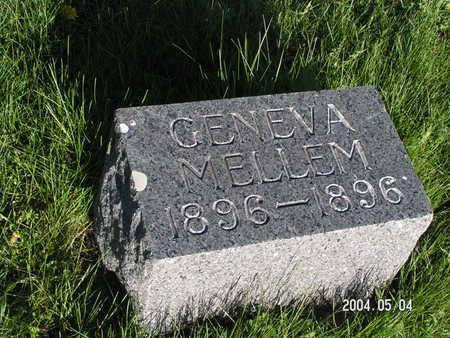 MELLEM, GENEVA - Worth County, Iowa | GENEVA MELLEM