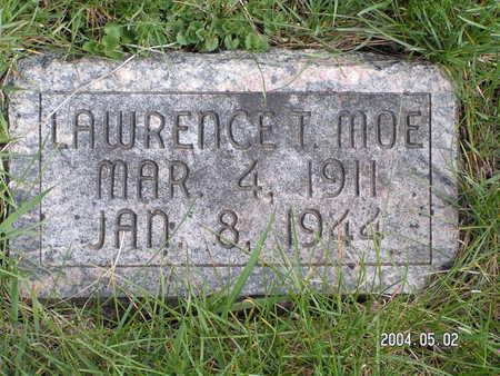 MOE, LAWRENCE T. - Worth County, Iowa | LAWRENCE T. MOE