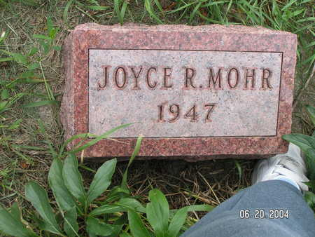 MOHR, JOYCE R. - Worth County, Iowa   JOYCE R. MOHR