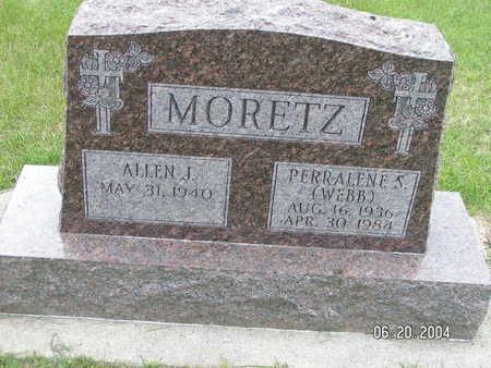 WEBB MORETZ, PERRALENE S. - Worth County, Iowa | PERRALENE S. WEBB MORETZ