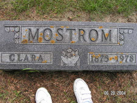 MOSTROM, CLARA - Worth County, Iowa | CLARA MOSTROM