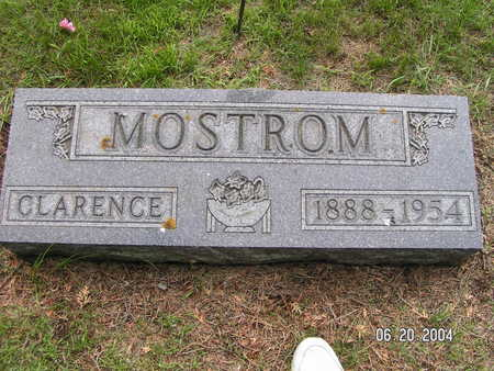 MOSTROM, CLARENCE - Worth County, Iowa | CLARENCE MOSTROM