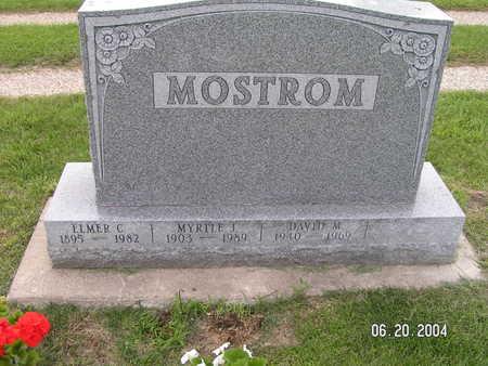 MOSTROM, MYRTLE J. - Worth County, Iowa | MYRTLE J. MOSTROM
