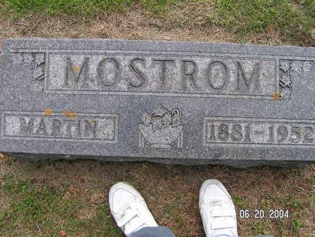 MOSTROM, MARTIN - Worth County, Iowa | MARTIN MOSTROM