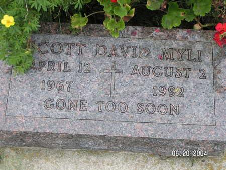 MYLI, SCOTT DAVID - Worth County, Iowa | SCOTT DAVID MYLI