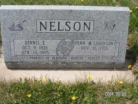 NELSON, DENNIS E. - Worth County, Iowa | DENNIS E. NELSON