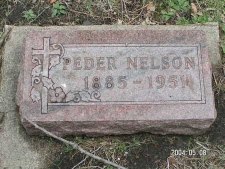 NELSON, PEDER - Worth County, Iowa | PEDER NELSON