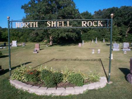 NORTH SHELL ROCK, CEMETERY - Worth County, Iowa | CEMETERY NORTH SHELL ROCK