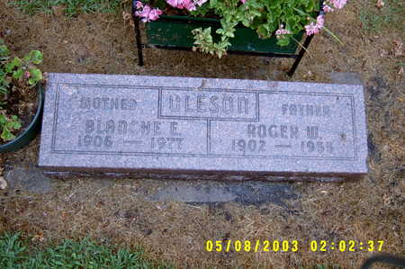 ESCHERICH OLESON, BLANCHE EVELYN - Worth County, Iowa | BLANCHE EVELYN ESCHERICH OLESON