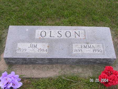 OLSON, JIM - Worth County, Iowa   JIM OLSON