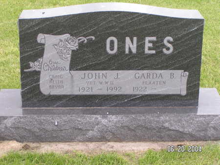 ONES, JOHN J. - Worth County, Iowa | JOHN J. ONES