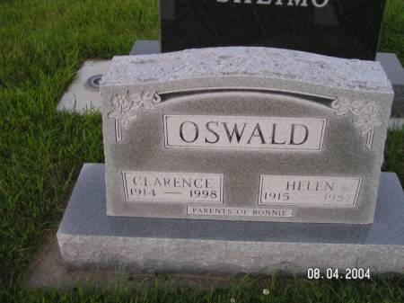 OSWALD, CLARENCE - Worth County, Iowa | CLARENCE OSWALD
