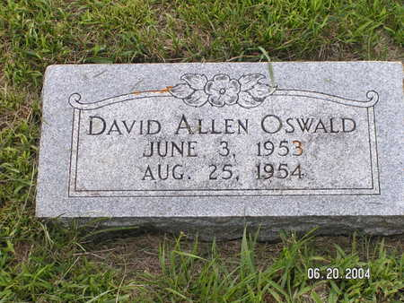 OSWALD, DAVID ALLEN - Worth County, Iowa | DAVID ALLEN OSWALD