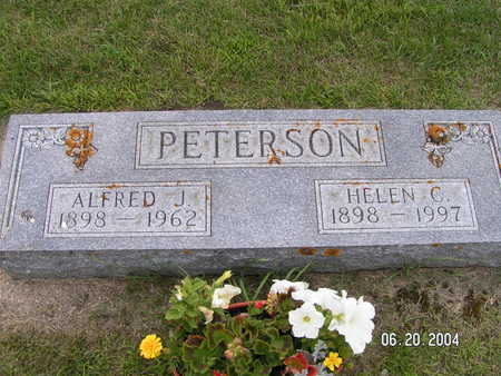 PETERSON, ALFRED J. - Worth County, Iowa | ALFRED J. PETERSON