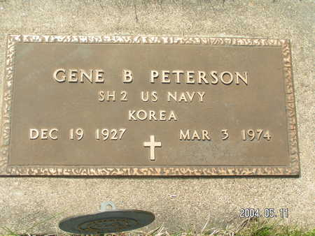 PETERSON, GENE B. - Worth County, Iowa | GENE B. PETERSON