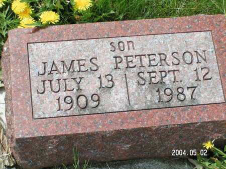 PETERSON, JAMES - Worth County, Iowa | JAMES PETERSON