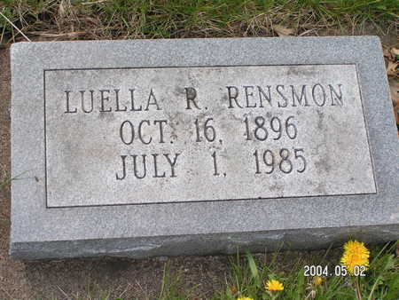 RENSMON, LUELLA R. - Worth County, Iowa | LUELLA R. RENSMON