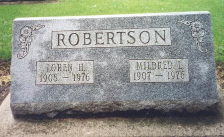 ROBERTSON, LOREN - Worth County, Iowa | LOREN ROBERTSON