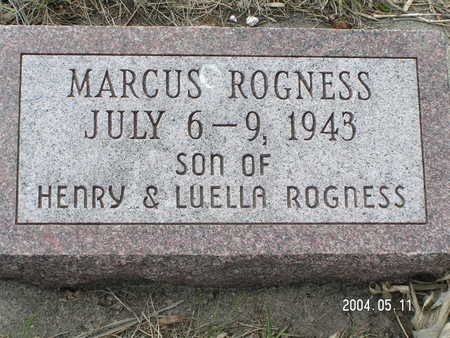ROGNESS, MARCUS - Worth County, Iowa | MARCUS ROGNESS