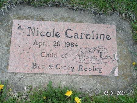 ROOLEY, NICOLE  CAROLINE - Worth County, Iowa | NICOLE  CAROLINE ROOLEY