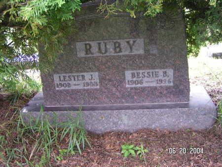 RUBY, BESSIE B. - Worth County, Iowa | BESSIE B. RUBY