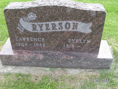 RYERSON, LAWRENCE - Worth County, Iowa | LAWRENCE RYERSON