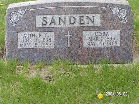 SANDEN, CORA - Worth County, Iowa | CORA SANDEN