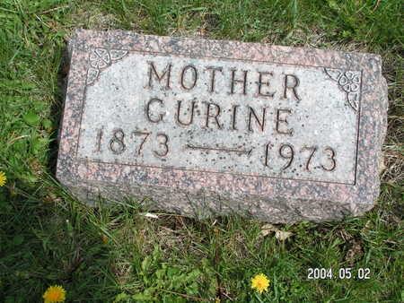 SANDEN, CURINE - Worth County, Iowa   CURINE SANDEN