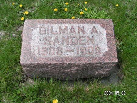 SANDEN, GILMAN - Worth County, Iowa | GILMAN SANDEN