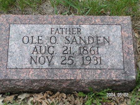 SANDEN, OLE O. - Worth County, Iowa   OLE O. SANDEN