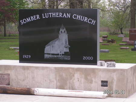 SOMBER LUTHERAN, CEMETERY - Worth County, Iowa | CEMETERY SOMBER LUTHERAN