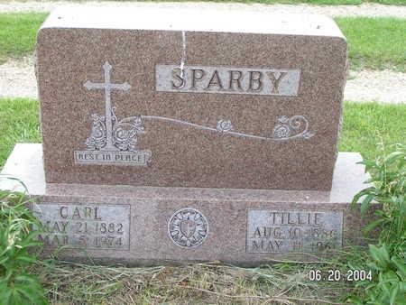 SPARBY, CARL - Worth County, Iowa | CARL SPARBY
