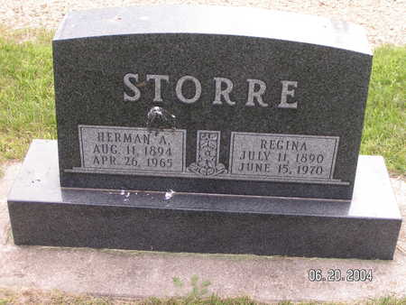 STORRE, HERMAN A. - Worth County, Iowa | HERMAN A. STORRE