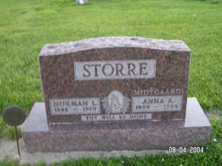 STORRE, ANNA S. - Worth County, Iowa   ANNA S. STORRE
