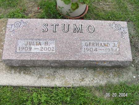 STUMO, GERHARD J. - Worth County, Iowa | GERHARD J. STUMO